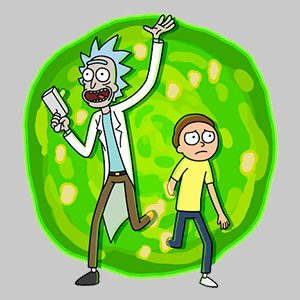 Cuadros de Rick y Morty