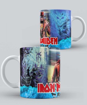 Mug de Banda Musical Iron Maiden