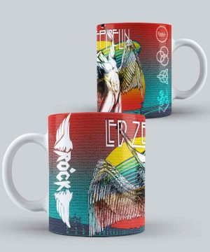 Mug de Banda Musical Led zeppelin