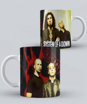 Mug de Banda Musical System Of a Down