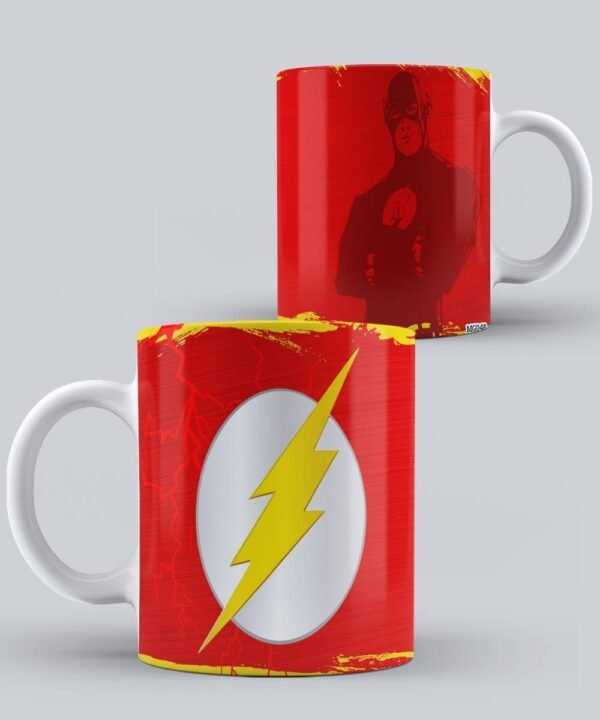 Mug de Flash Silueta