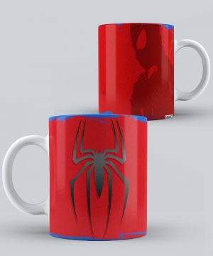 Mug de Spiderman Silueta