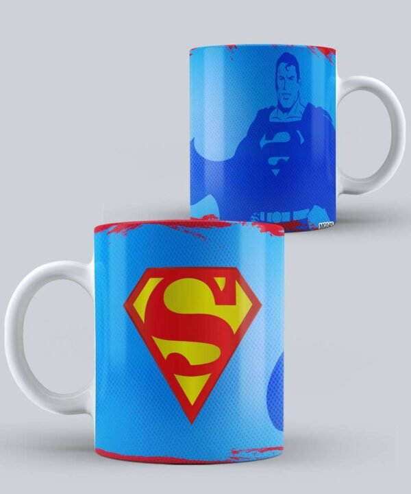 Mug de Superman Silueta