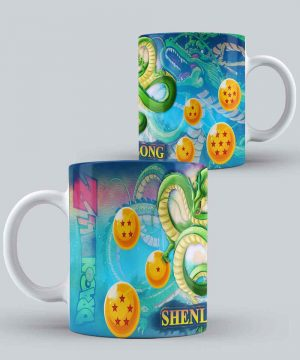 Mug de dragon ball shen long con esferas