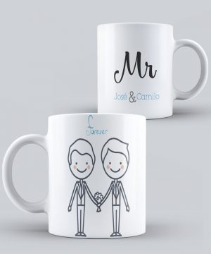 Mugs del Orgullo LGTB Mr.